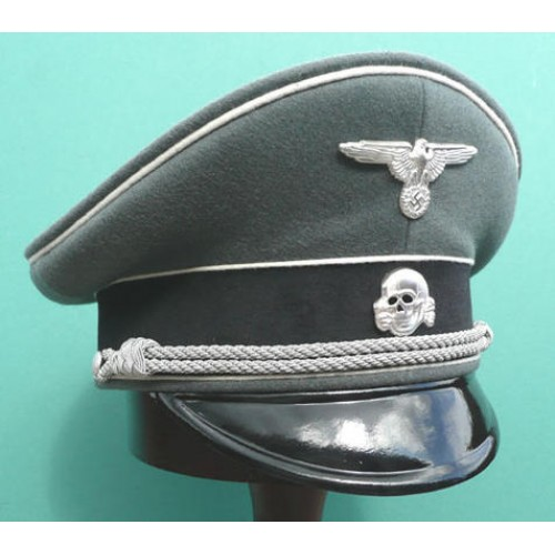Waffen-SS Infantry Officers Peaked Cap