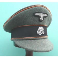 Waffen-SS Kz. Lager Old Style Field Service Cap