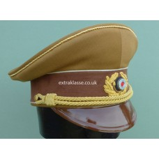 Adolf Hitler Party Brown Peaked Cap.