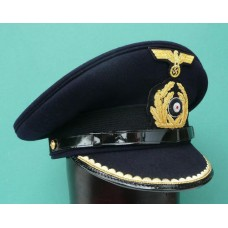 Kriegsmarine Kapitanleutnant Peak Cap