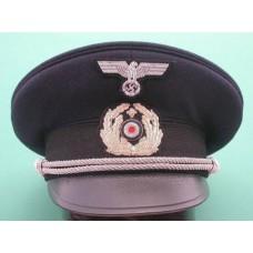 Kriegsmarine Chaplain Peaked Cap