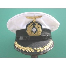 Kriegsmarine Korvettenkapitän Peaked Cap. (Removable white top)