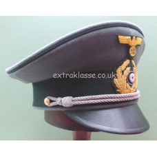 KM Officers Field Grey Uniform Peaked Cap