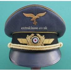 Luftwaffe Generals Peaked Cap.