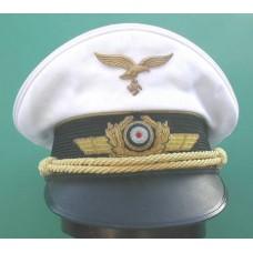 Luftwaffe Generals Summer Peaked Cap.