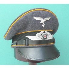 Luftwaffe Peaked Cap for Fallschirmjager / Flight EM & NCO