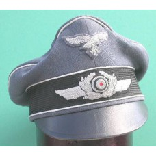 Luftwaffe Officers Crusher Cap