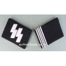 Waffen-SS Rottenführer Collar Patches