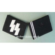 Waffen-SS Sturmmann Collar patches