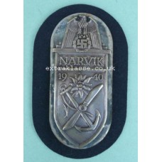 Narvik Battle Shield (Kriegsmarine issue)