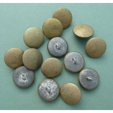 Original Gilt Pebbled Buttons