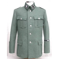Waffen-SS Officers Field Service Tunic.