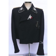 Waffen-SS Officers Piped Panzer Tunic
